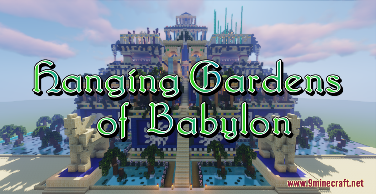 hanging-gardens-of-babylon-map-one17.1-for-minecraft